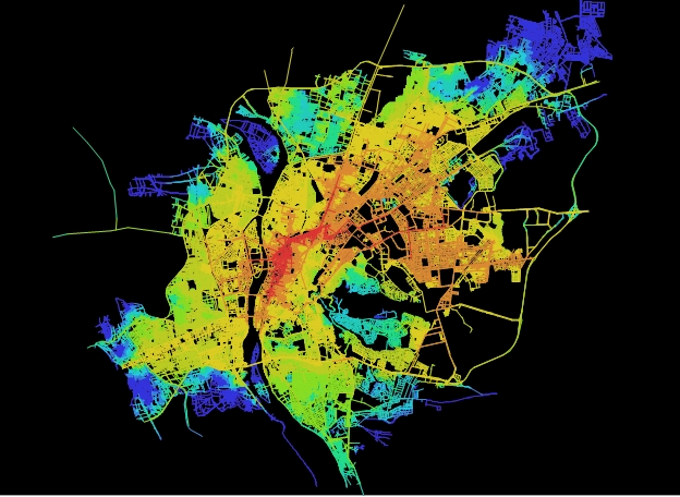 spatial accessibility cairo